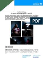 UNICEF (2011) Parto_vertical