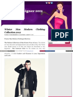 Fashion Designer 2012 Blogspot Com
