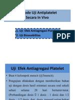 Metode Uji Antiplatelet