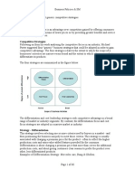 Business Policy & Strategic Management- Answers -Word Document