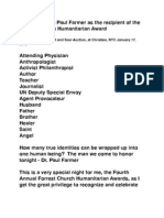Introduction to Paul Farmer