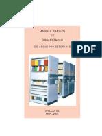 Manual Organizacao Arquivo 2007