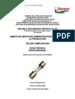 Análisis de Objeto Técnico El Fusible