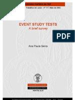 Tests Event Study