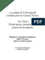 Monografia Met. Inv. Cientifica CT Primera parte