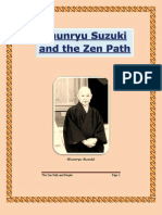 Shunryu Suzuki - The Zen Path and People