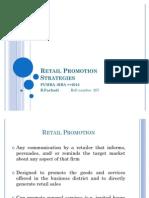 Retail Promotion Strategies