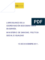 LIBRO BLANCO DE LA COORDINACIÓN SOCIO-SANITARIA EN ESPAÑA
