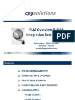20081017 - PLM Integration Overview