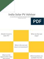 Preview of India Solar PV Advisor