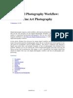 Digital Photography Workflow - Fine Art