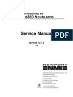 Newport e360 Ventilator - Service Manual