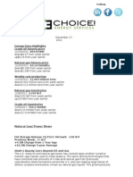 Energy and Markets Newsletter 121711