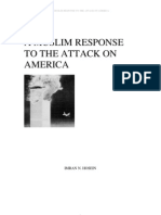 Muslim Response to the Attact on America
