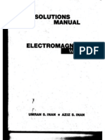 Electromagnetic Waves Solutions Manual_Inan