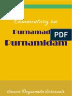 Purnamadah Purnamidam - A Commentary by Swami Dayananda