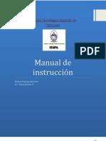 Manual de instrucción para evaluadores del desempeño