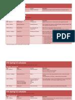 FYE Orientation Schedule 12S