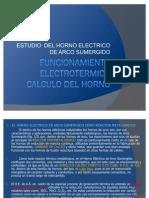 Funcionamiento Electrotermico Calculo Del Horno