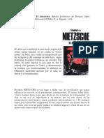 López Castellón, Enrique - Las limitaciones de la crítica de Nietzsche al cristianismo