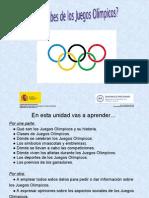 Que Sabes de Los Juegos Olimpicos 2