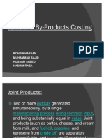 Joint and by-Products Costing