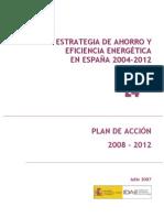 Estrategia de Ahorro y Eficiencia Energetic A 2004-2012