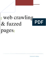 Web Crawling y Fuzzed Pages