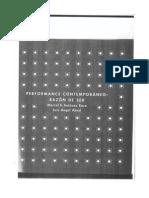 Performance Contemporanea