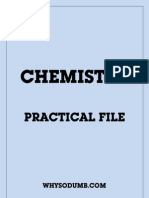 Chemistry Practical File (WSD E-Book)