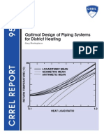 Optimal Design of Piping