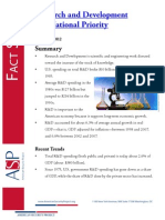 Fact Sheet Research and Development as a National Priority Jan 2012