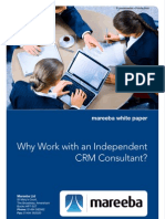 Why Work With an Independent CRM Consultant