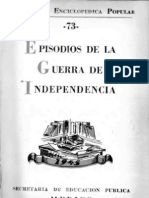 Biblioteca Enciclopedica Popular - Episodios de La Guerra de In Depend en CIA