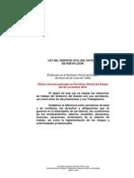 Ley del Servicio Civil del Estado de Nuevo León