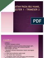 Obat-obatan Pada Ibu Hamil Trimester 1 - Trimeser