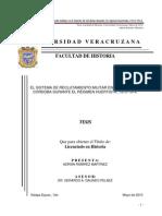 El sistema de reclutamiento militar en el cantón de Córdoba durante el régimen huertista, 1913-1914.