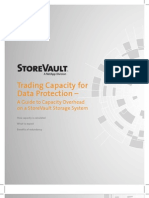 Trading Capacity for Data Protection