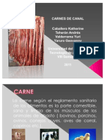 Carnes de Canal