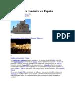Arquitectura románica en España