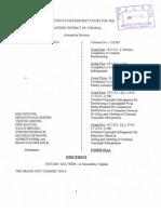 MegaUpload Expediente Virgina Court USA