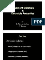 L13-TVM_Pavement Materials & Desirable Propoties_27 & 28-09-06