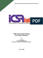 ICSA Firewall Testing