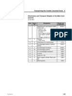 Transport Weighjts and Dimensions