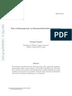 Yasusada Nambu- Fate of Inhomogeneity in Schwarzschild-deSitter Space-time