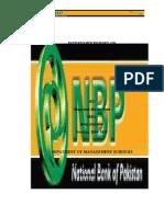 NBP Internship Report