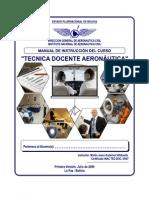 Manual Curso Técnica Docente INAC Bolivia 2009