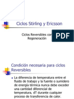 Ciclo Stirling y Ericsson