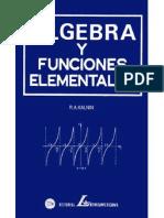 Algebra y Funciones Elementales I