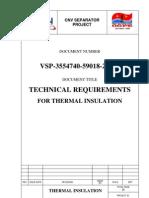 VSP-3554740-59018-20600-B-TRforThermalInsulationPackage